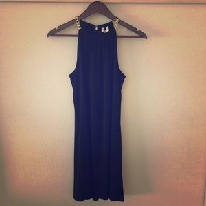 NWT Michael Kors Halter Dress with Chain Straps